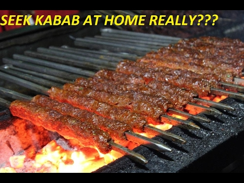 how to cook kebabs at home
