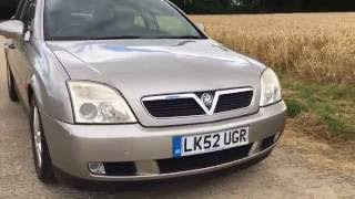 2003 vauxhall opel vectra sxi 1.8 engine manual video review