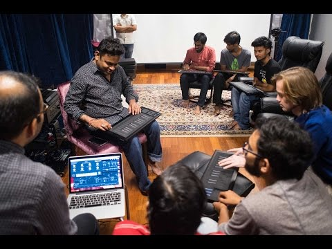 A.R. Rahman's KM Music Conservatory - Making Music on the Seaboard RISE