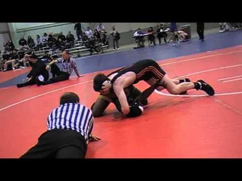 Justice Bolden (Central) vs Jeric Kasunic (Benton Academy)