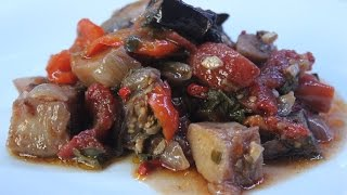 Видео-рецепт – Аджапсандали по-грузински(Аджапсандали по-грузински. Вкуснейшее овощное соте. Этот и многие другие подробные рецепты различных кухо..., 2015-09-10T13:30:06.000Z)