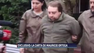 Revelan carta de Mauricio Ortega: