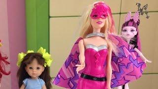 Мультики для девочек: Распаковка Барби - Супер герой