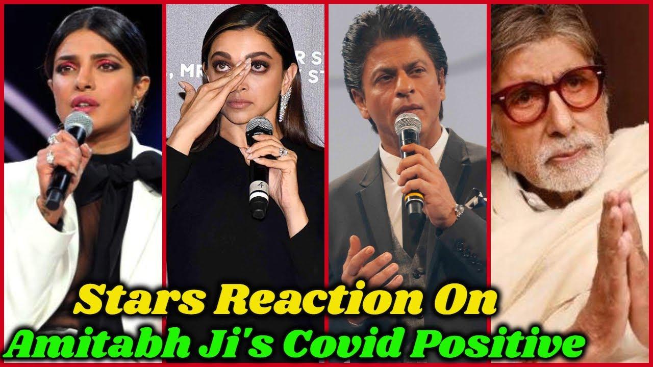 Bollywood Stars Reaction on Amitabh Ji's Covid Result and Hospitalization