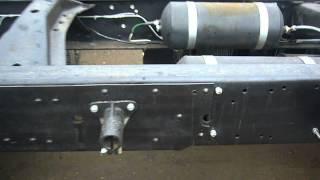 Камаз шасси 53215 , сборка с рамы под новый
