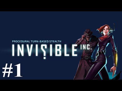 Invisible Inc. #1 | Time To Go Incognito