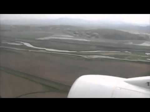 Nice Landing at Pyongyang Sunan International Airport North Korea
