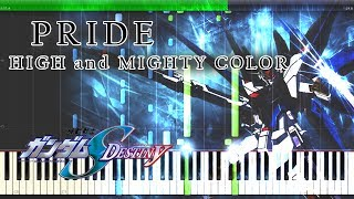 PRIDE HIGH and MIGHTY COLOR 『機動戦士ガンダムSEED DESTINY』OP Full...