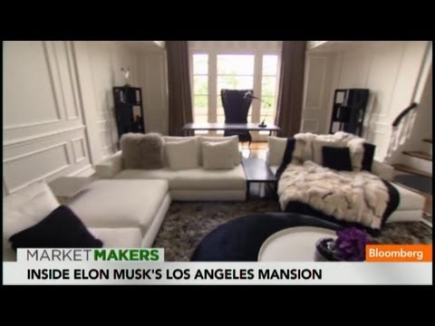 Inside Elon Musk's $17M Bel Air Mansion
