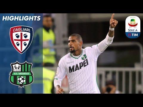 Cagliari 2-2 Sassuolo | Rigore in extremis concesso dal VAR vale il pareggio del Sassuolo | Serie A