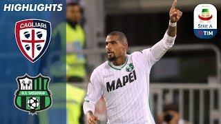 Cagliari 2-2 Sassuolo | Rigore in extremis concesso dal VAR vale il pareggio del Sassuolo | Serie A streaming