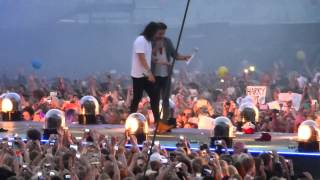 one direction you and i little white lies water fight live in gothenburg sweden 23 6 2015
