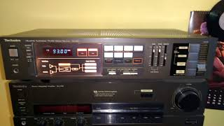 Vintage technics receiver video