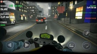Highway Real Traffic Bike Racer - Motor Racing Games - Android Gameplay FHD #3