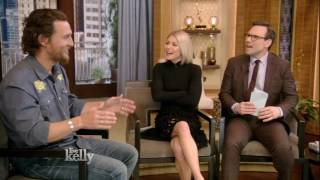 Matthew McConaughey Talks About Almost Losing His Hair