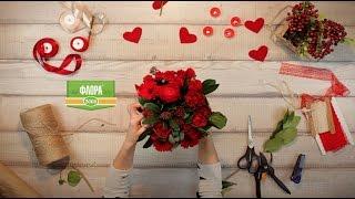 видео Купить 101 розу Киев, доставка цветов, Лепестки