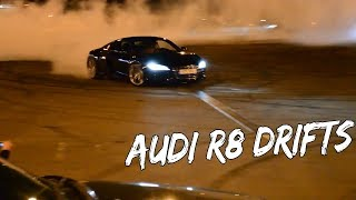 Best 8 Audi R8 Drifts Hoodigan