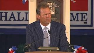 George Brett 1999 Hall of Fame Induction Speech