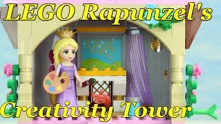 LEGO Disney Princess Rapunzel's Creativity Tower 41054 stop motion