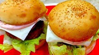 मैकडॉनल्ड वेज चीज़ आलू टिक्की बर्गर /McDonald aloo tikki Burger/indian style veg cheese burger
