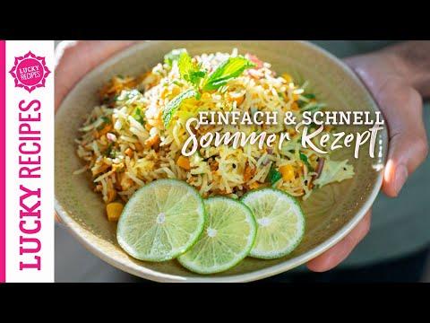 tuna-salad-with-basmati-rice-|-light-summer-recipe