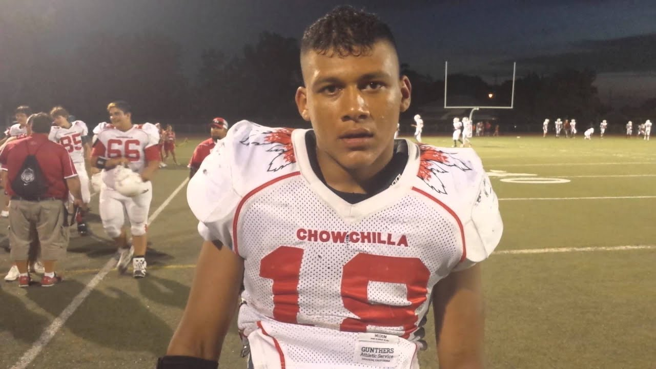 sportswurlz interview chowchilla rb ronnie reyes