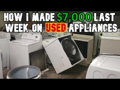 Inside A Used Appliance Store - How They Operate