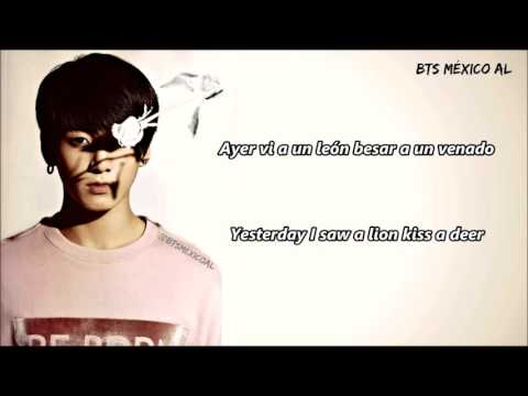 [Sub Esp + Eng Lyrics] Jungkook (BTS) - Lost Stars cover (sub español)
