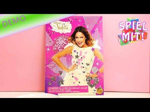 Weihnachtskalender Violetta.Violetta Adventskalender Der Kalender Für Violetta Fans Disney