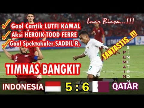 Highlights Piala AFC U-19, Qatar Vs Timnas Indonesia 6-5 (ENGLISH COMMENTARY)