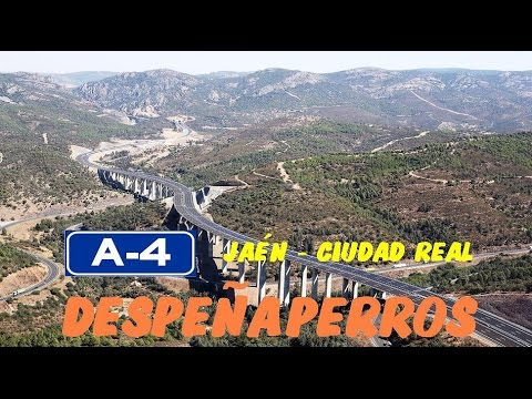 P. Natural y Túneles/Tunnels and Natural Forest : Despeñaperros , A-4 Jaén-Ciudad Real (Reeditado)