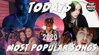 Top 20 Most Listened Songs Today - August 2020