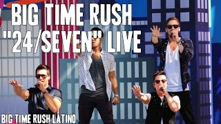 Скачать Big Time Rush 24 Seven Live HD