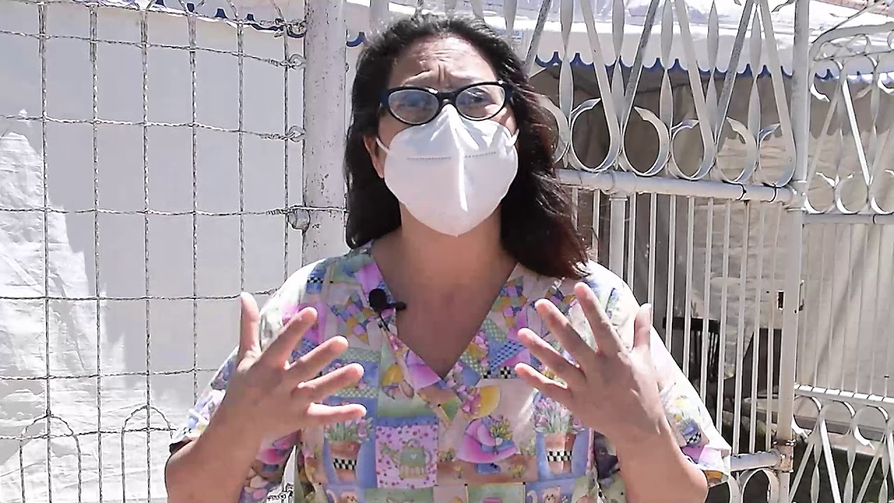 Enfermera del Hospital de Rafaela, Miriam Valdez