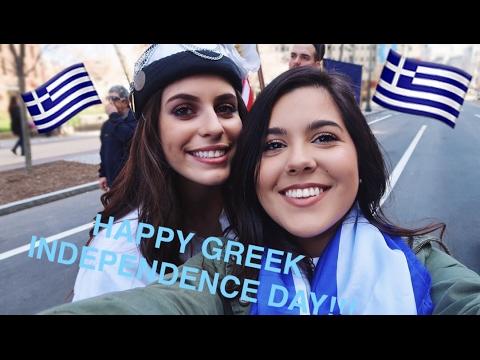 VLOG 9 - GREEK INDEPENDENCE DAY PARADE IN PHILADELPHIA