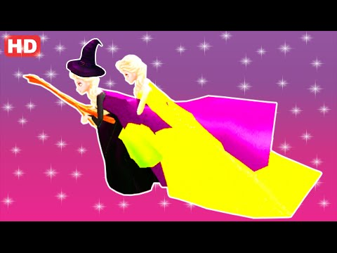 FROZEN ELSA COLORS EPIC PARTY & Flying BROOM POTTER AND FIRE TRUCK & Nursery Rhymes Children Songs