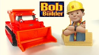 BOB THE BUILDER MASH AND MOLD MIGHTY MACHINE - MUCK BULLDOZER & DUMPTRUCK WITH MOLDABLE PLAYSAND