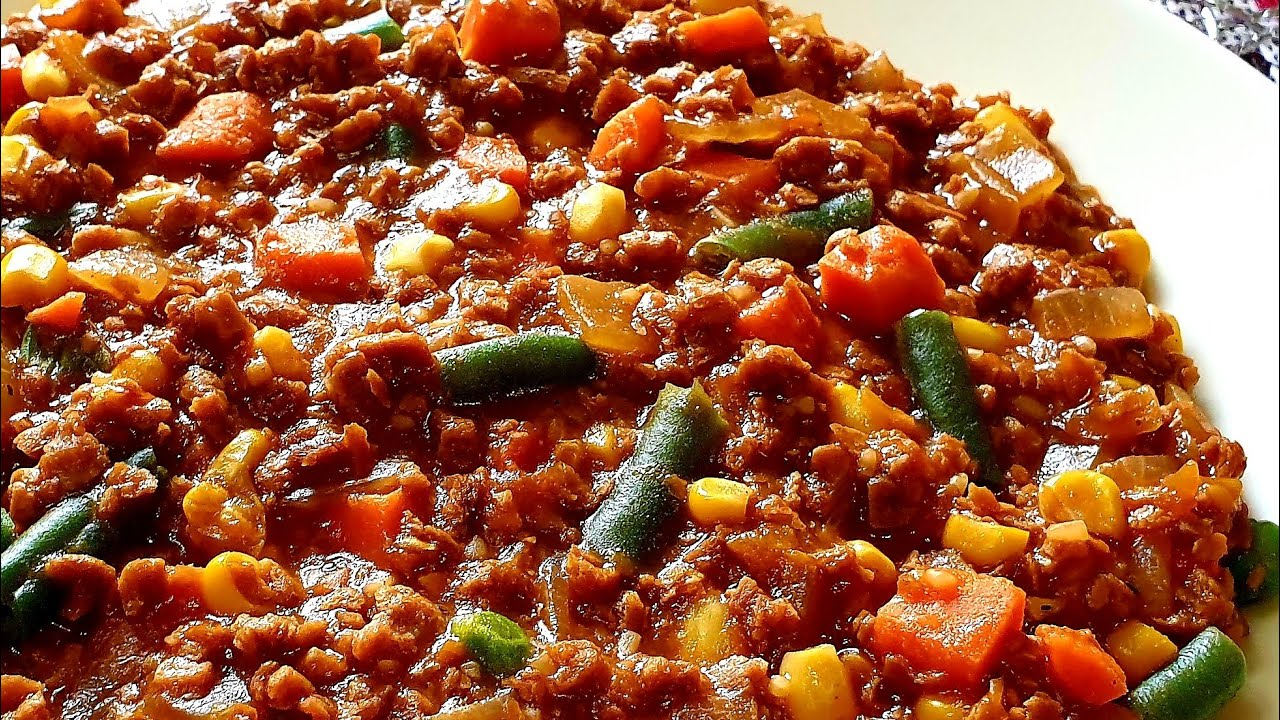 Soya mince recipe/How to cook soy mince/soy mince recipe ...