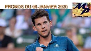 PRONOS TENNIS ( atp cup / auckland )  DU LUNDI 06 JANVIER 2019 !!! PARIS SPORTIFS !!!!