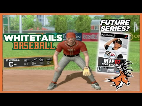 Let's Play MVP 07 NCAA Baseball With The Wisconsin State Whitetails!