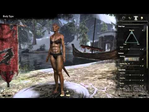 The Elder Scrolls Online: Character Creation Trailer
