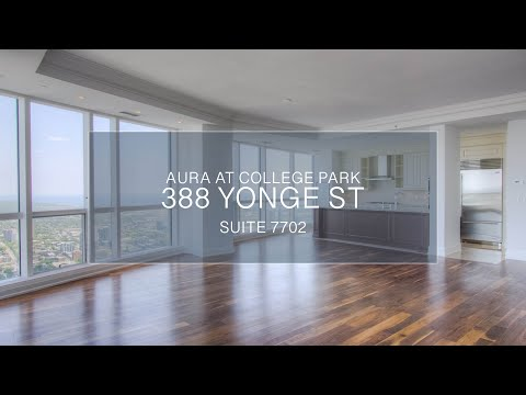 388 Yonge Street - Aura at College Park, Sub-Penthouse - Luxury Real Estate