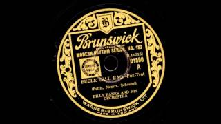 Billy Banks And His Orchestra  Bugle Call Rag  BRUNSWICK  01590