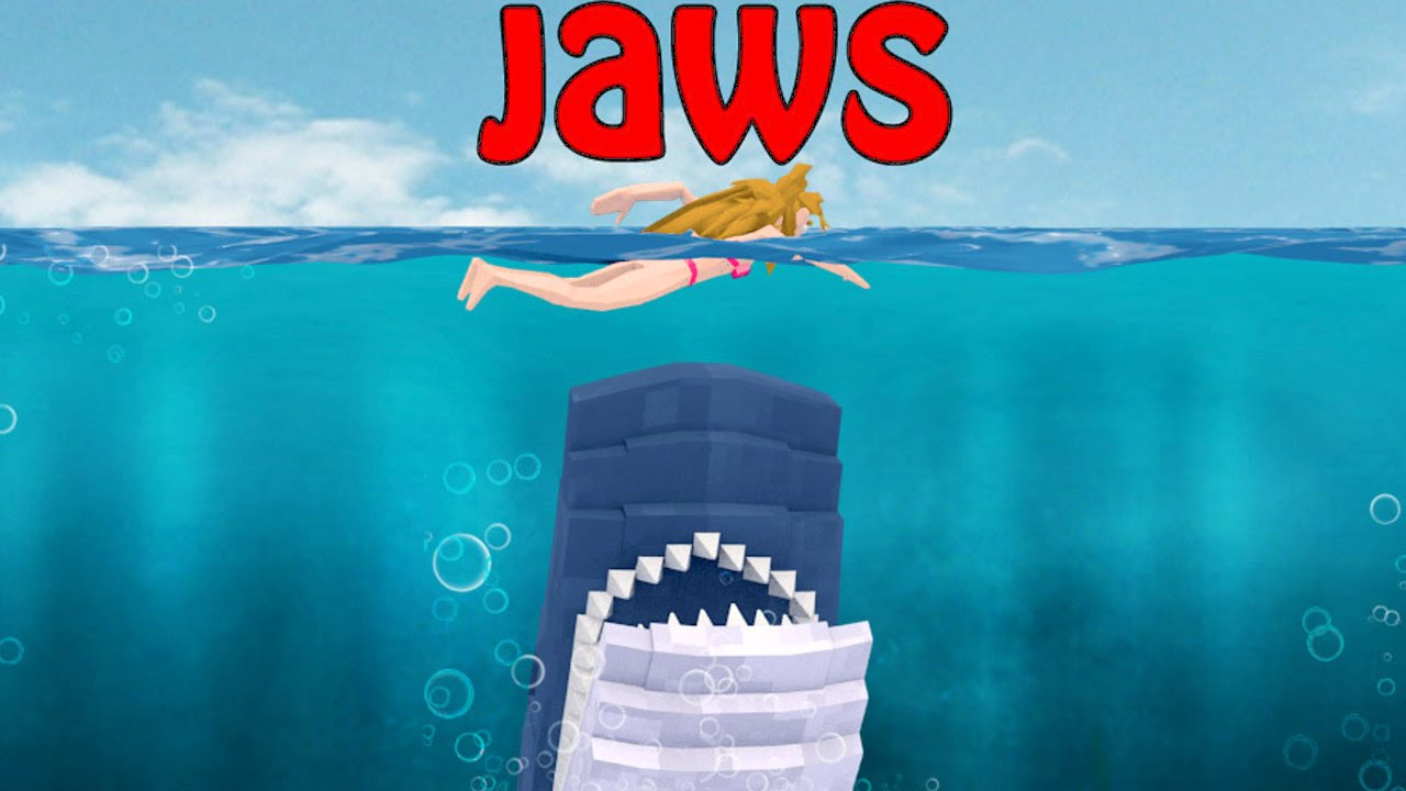 minecraft jaws movie 2 all the sharks go missing
