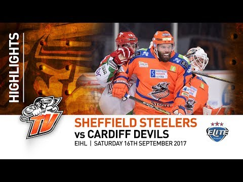 Sheffield Steelers v Cardiff Devils - EIHL - 16th September 2017