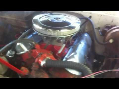 1964 gmc  u0026quot crustine u0026quot  msd ignition box install part 1