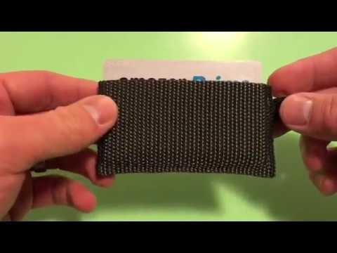 Webbing Wallet Original - How To