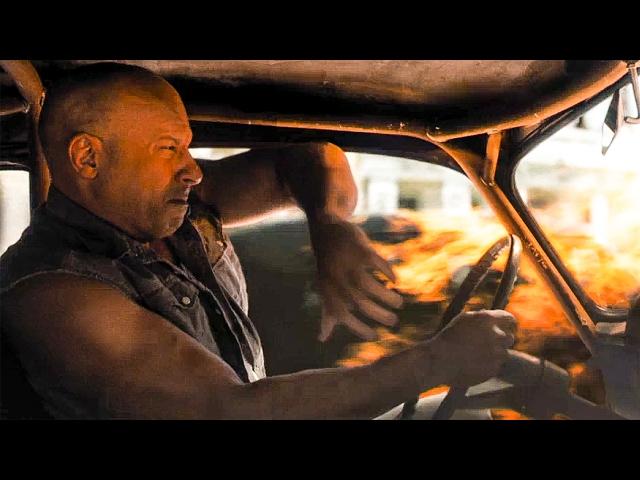 Película americana en las calles de La Habana