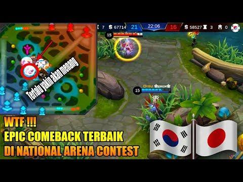 WTF !!! COMEBACK IS REAL | Korea VS Jepang | National Arena Contest