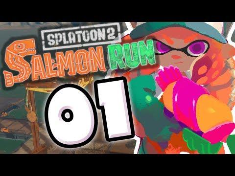 SPLATOON 2 SALMON RUN #01 - LE MEILLEUR MODE DU JEU !